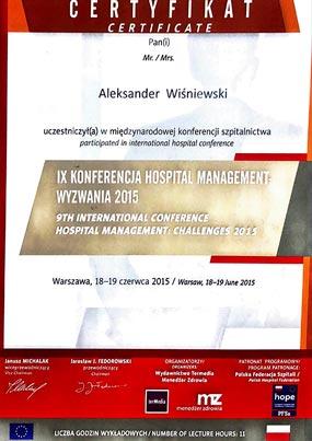 Aleksander Wiśniewski - specjalista chorób wewnętrznych, kardiolog - KARDIOmed Zamość