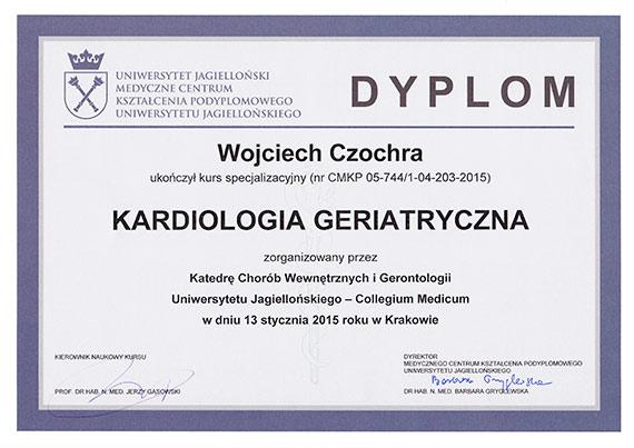 Wojciech Czochra - specjalista chorób wewnętrznych, kardiolog - KARDIOmed Zamość
